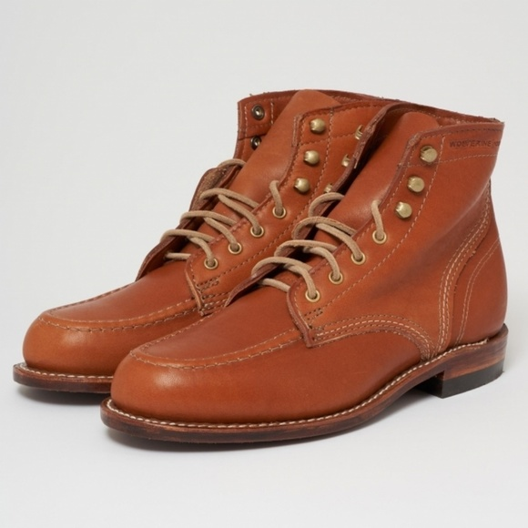 dd4183dafe8 New! WOLVERINE 1000 MILE Tan 1940 Lace Up Boot